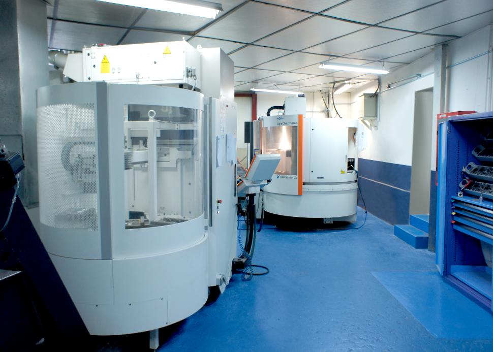 Tooling Department equipment - FORGINAL medical
