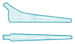 Struktur eines Werkstücks bei der Bearbeitung
